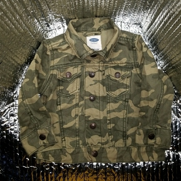 55a6fde94a67c Old Navy Jackets & Coats | Boys Army Fatigue Camouflage Jacket ...